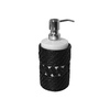 Elegant Home Fashions Black Lotion Dispenser