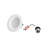 Utilitech Pro 50-Watt Equivalent White LED Recessed Retrofit Downlight (Fits Housing Diameter: 4-in)