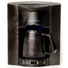 BREW EXPRESS Bronze 4-Cup Programmable Coffee Maker