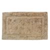 Luxury 34-in x 21-in Linen Cotton Bath Rug