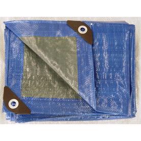 Blue Hawk 12-ft x 16-ft Plastic Tarp