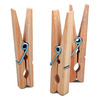 Project Source 50-Pack Tan Wood Clothespins