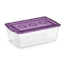 KIS 2-Pack Omni 7-Quart Shoe Box with Standard Snap Lid