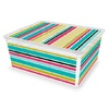 KIS Small Stripe Pattern Decorative C Box