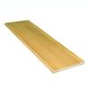 Stairtek 11.5-in x 42-in Natural Prefinished Oak Wood Stair Tread