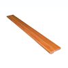 Stairtek 3-1/2-in x 48-in Natural Brazilian Cherry Stair Nose Moulding