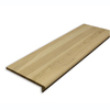 Stairtek 36-in x 11-1/2-in Unfinished White Oak Interior Stair RetroTread