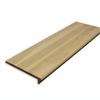 Stairtek RetroTread 11.5-in x 36-in Unfinished Oak Wood Stair Tread