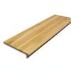 Stairtek RetroTread 11.5-in x 36-in Natural Prefinished Red Oak Wood Stair Tread