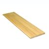 Stairtek RetroTread 10.5-in x 36-in Natural Prefinished Red Oak Wood Stair Tread