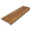 Stairtek RetroTread 11.5-in x 42-in Gunstock Prefinished Red Oak Wood Stair Tread