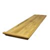 Stairtek RetroTread 11.5-in x 48-in Natural Prefinished Oak Wood Stair Tread