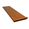 Stairtek RetroTread 11.5-in x 48-in Natural Prefinished Cherry Wood Stair Tread