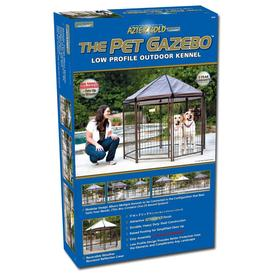 Advantek 5-ft x 5-ft x 5-ft Outdoor Dog Kennel Box Kit