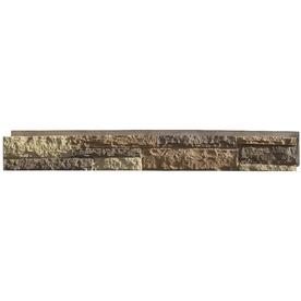 Shop NextStone Carolina Cocoa Ledgestone Faux Stone Veneer Panels At