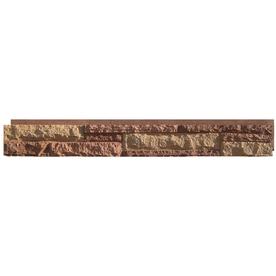 Shop NextStone Durango Red Ledgestone Faux Stone Veneer Panels At