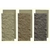 NextStone 3-Pack 7-in x 15-1/2-in New Mocha SandStone Accent Rock