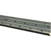 NextStone Starter 0.1-in x 48-in Silver/Metal J-Channel Stone Veneer Trim