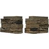 NextStone 4-Pack 12-3/4-in x 8-1/4-in Mojave SlateStone Flush Mount Outside Corner