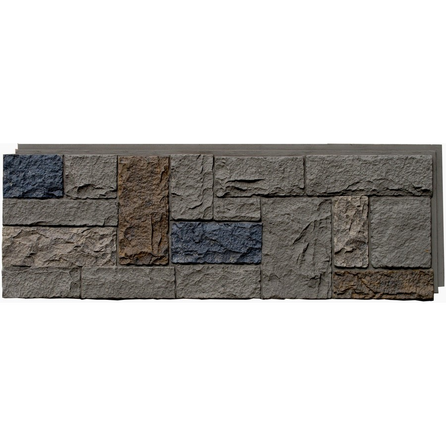 Shop Nextstone Tudor Gray Castle Rock Faux Stone Veneer