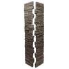 NextStone Slatestone 41-in x 8-in Brunswick Brown Post Cover Stone Veneer Trim