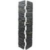 NextStone Slatestone 41-in x 8-in Midnight Ash Post Cover Stone Veneer Trim