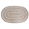 allen + roth Oval Indoor Braided Throw Rug (Common: 2 x 4; Actual: 30-in W x 50-in L)