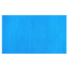 Style Selections Solid Ribbed Chenille Rectangular Aqua Solid Woven Chenille Accent Rug (Common: 2-ft x 4-ft; Actual: 27-in x 45-in)
