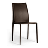 Baxton Studio Set of 2 Brown Dining Chairs