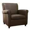 Baxton Studio Baxton Dark Brown Accent Chair