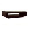 Baxton Studio Wenge Composite Rectangular Coffee Table