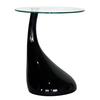 Baxton Studio Baxton Black Composite Round Coffee Table