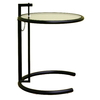 Baxton Studio Baxton Black Composite Round End Table