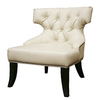 Baxton Studio Baxton White Accent Chair