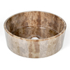 D'Vontz 4-3/4-in D Marble Vessel Sink