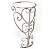 D'Vontz 30-in H Marble Pedestal Sink Base