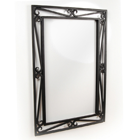D&#039;Vontz HBV2M-BL The Scroll Mirror in Black