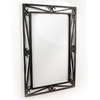 D'Vontz HBV2M-BL The Scroll Mirror in Black