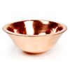 D'Vontz 8-in D Copper Vessel Sink