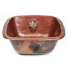 D'Vontz Copper Prep Sink