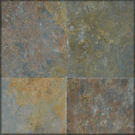HTO 5-Pack 12-in x 12-in San Rio Multicolor Floor Tile