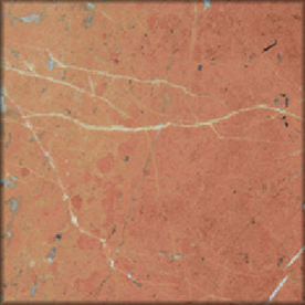 HTO 5-Pack 12-in x 12-in Rojo Peach Floor Tile
