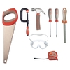 Red Toolbox Kid's 8-Piece Tool Set