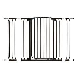 Dreambaby Chelsea Tall Auto-Close 53-in x 39.5-in Black Metal Child Safety Gate