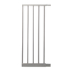 Dreambaby Empire Magnetic EZY-Check Auto-Close with Stay-Open Feature 11-in x 29.5-in Silver Metal Child Safety Gate