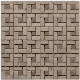 Big Pacific 12-in x 12-in Ivory Travertine Floor Tile