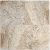 Big Pacific 12-in x 12-in Sterling Travertine Floor Tile