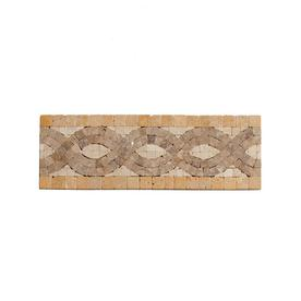 Big Pacific 3-7/8-in x 10-in Ivory Travertine Floor Tile