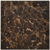 Big Pacific 18-in x 18-in Emperador Dark Marble Floor Tile
