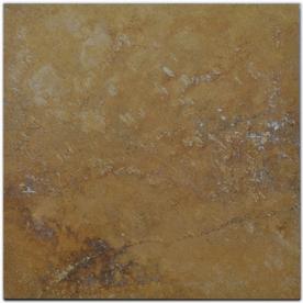 Big Pacific 18-in x 18-in Golden Sienna Travertine Floor Tile